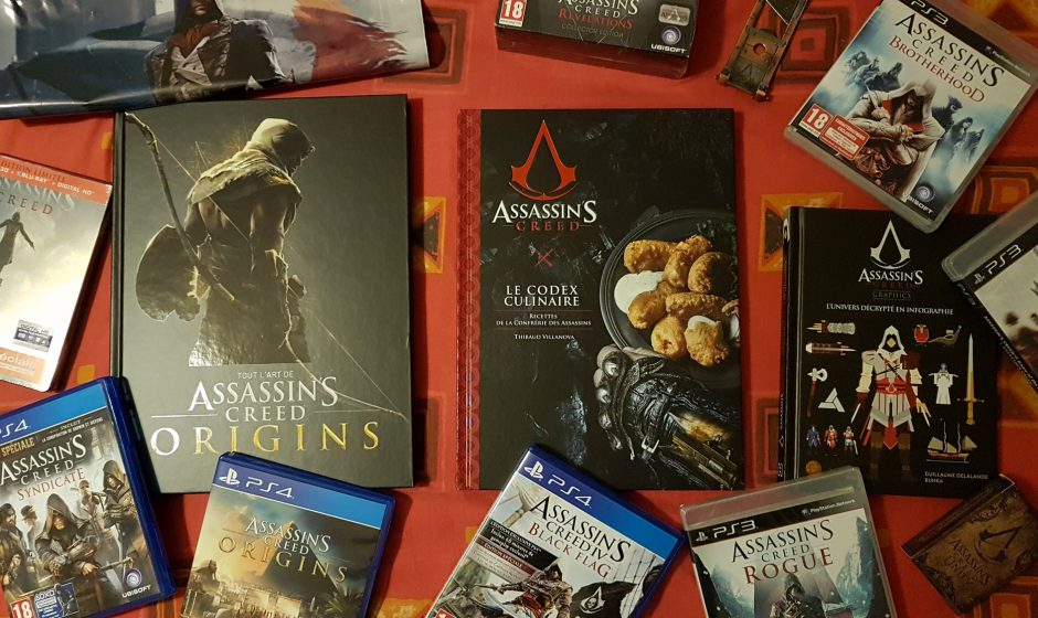 ON A LU | La collection Assassin's Creed de Hachette Heroes
