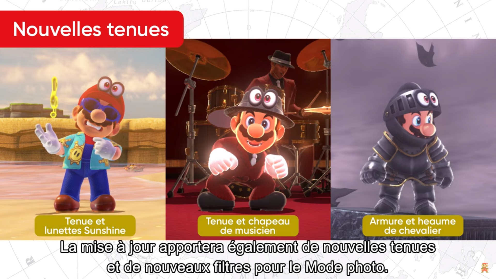 super mario odyssey va b n ficier d 39 une mise jour gratuite en f vrier jvfrance. Black Bedroom Furniture Sets. Home Design Ideas