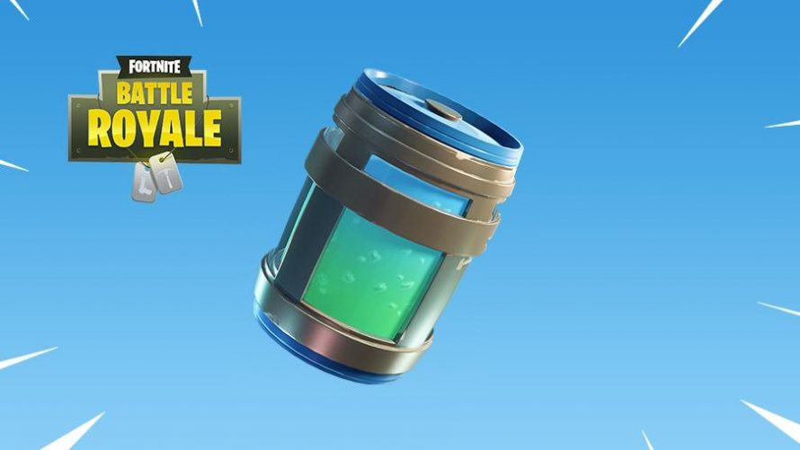 Une nouvelle potion dans Fortnite Battle Royale