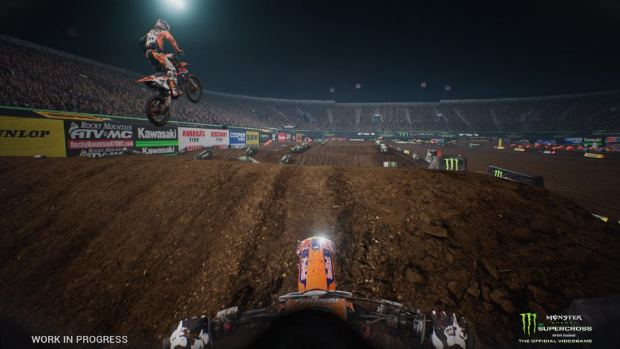 Un peu de gameplay pour Monster Energy Supercross