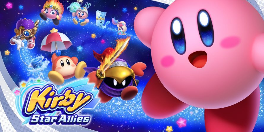 Un long trailer de gameplay pour Kirby: Star Allies