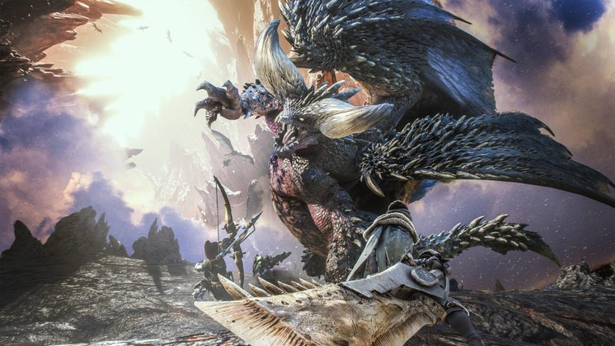 7.5 millions d'exemplaires livrés de Monster Hunter World