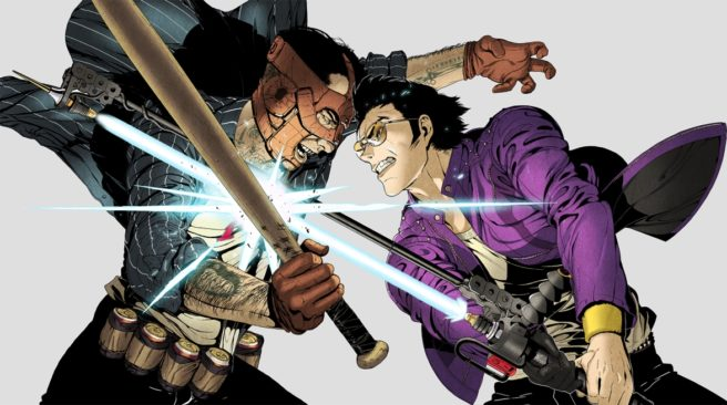 Du gameplay pour Travis Strikes Again: No More Heroes