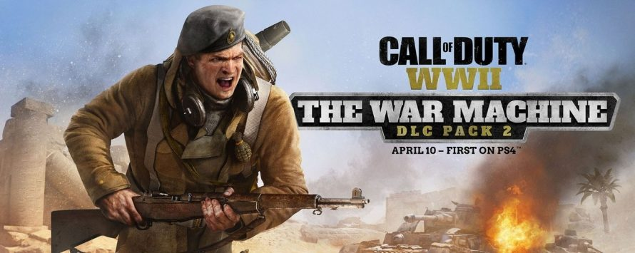 Call of Duty: WWII – Le second DLC The War Machine passera par Dunkerque