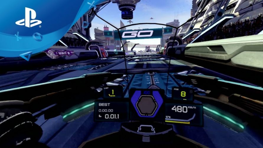Wipeout Omega Collection : Le mode PlayStation VR disponible