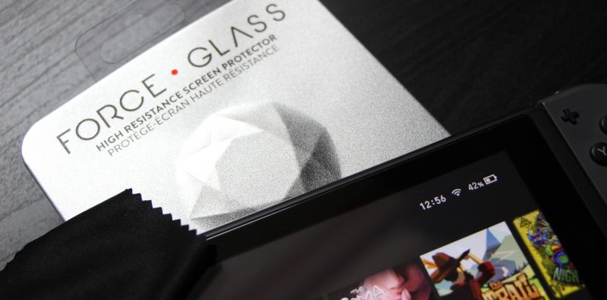 Nintendo Switch : L'écran de protection Force Glass disponible aujourd'hui