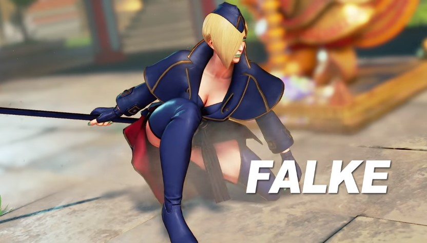 Falke débarque le 24 avril sur Street Fighter V