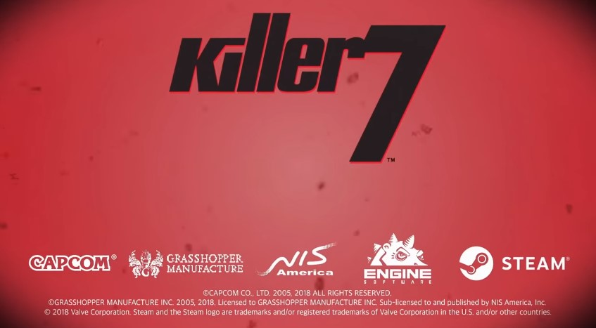 Killer7 ressortira sur Steam
