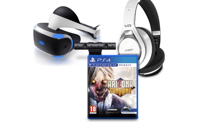 bon plan playstation vr arizona sunshine casque audio 270 jvfrance. Black Bedroom Furniture Sets. Home Design Ideas
