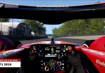 F1 2018 : Il sera possible de désactiver la barre centrale du halo en vue cockpit