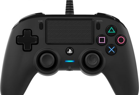 TEST Manette Nacon Wired Compact Controller PS4