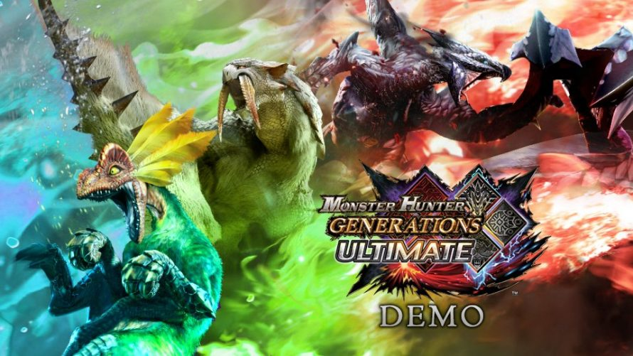 Monster Hunter Generations Ultimate : une démo disponible