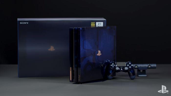 Une PS4 Pro transparente en édition limitée à 50 000 exemplaires