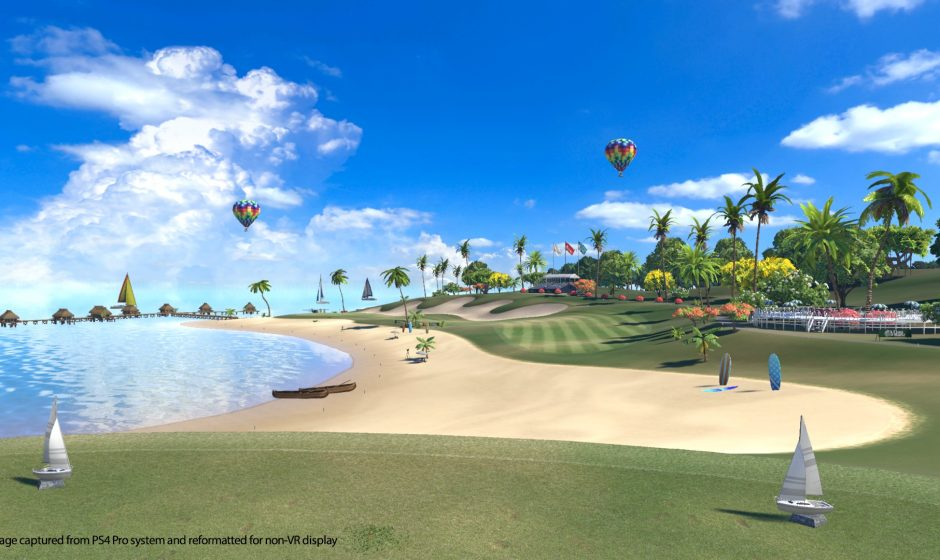 TEST | Everybody's Golf VR : La réalité virtuelle s'invite sur le green