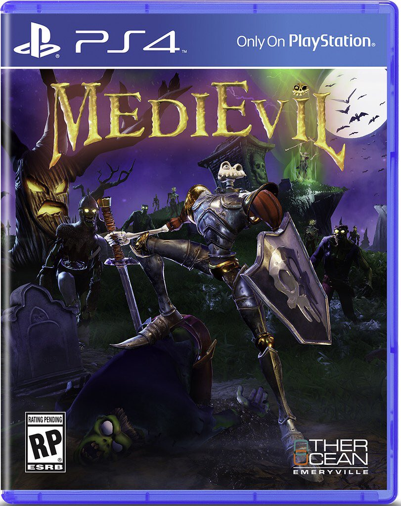 MediEvil Physical edition boxart