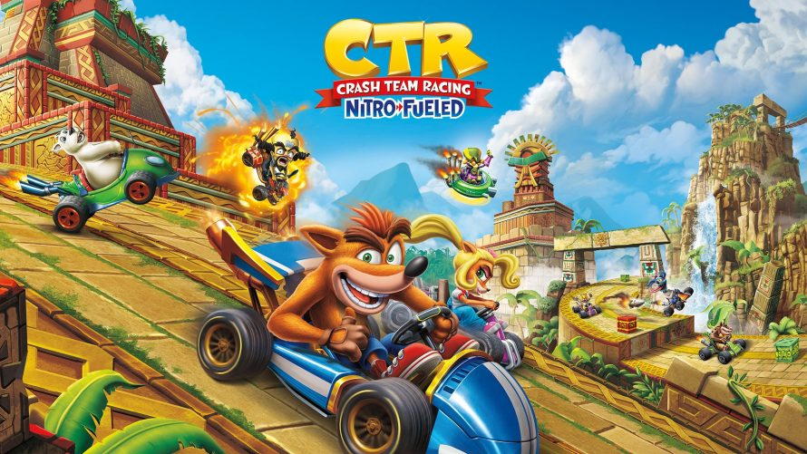 Crash Team Racing Nitro-Fueled : Détails du Grand Prix 6 sous ambiance de Noël