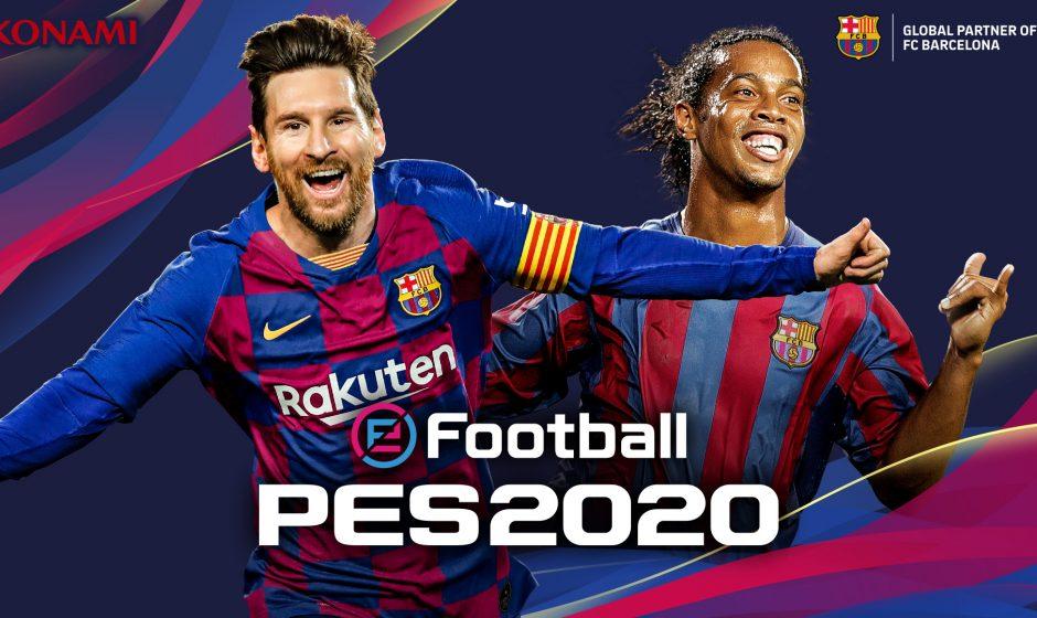 eFootball PES 2020 : Le Data Pack 3.0 et la mise à jour 1.06 sont disponibles