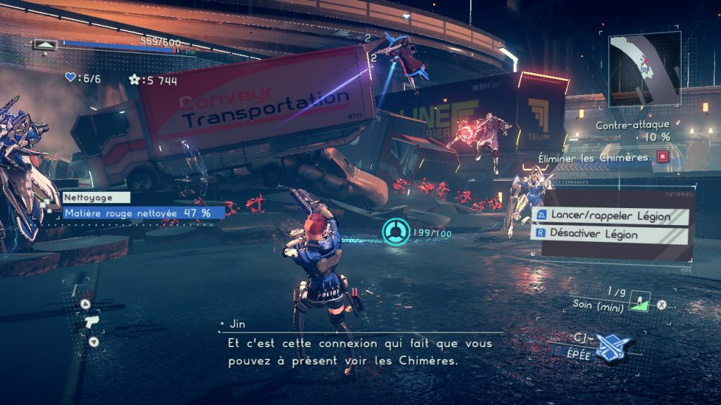 Astral Chain Battles