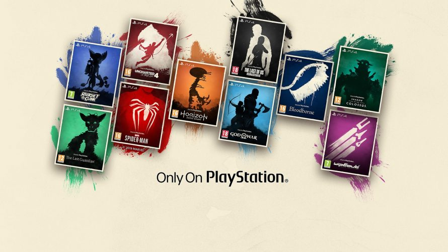 PS4 : Sony lance la collection Only on PlayStation avec des jaquettes inédites