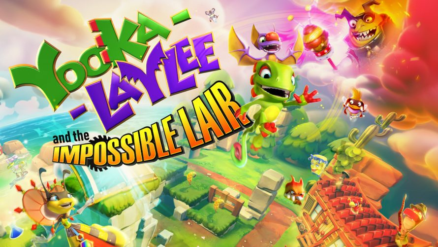 Yooka-Laylee and the Impossible Lair est disponible gratuitement en téléchargement sur PC (Epic Games Store
