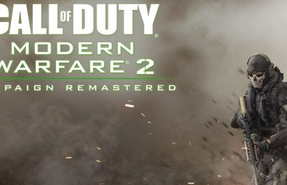 Call of Duty: Modern Warfare 2 Campaign Remastered est disponible sur PlayStation 4