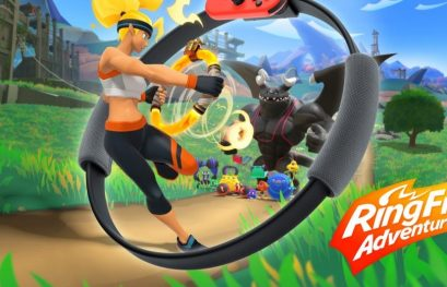 Ring Fit Adventure : la mise à jour 1.2.0 est disponible