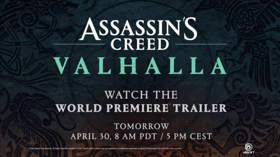 Ubisoft annonce Assassin's Creed Valhalla