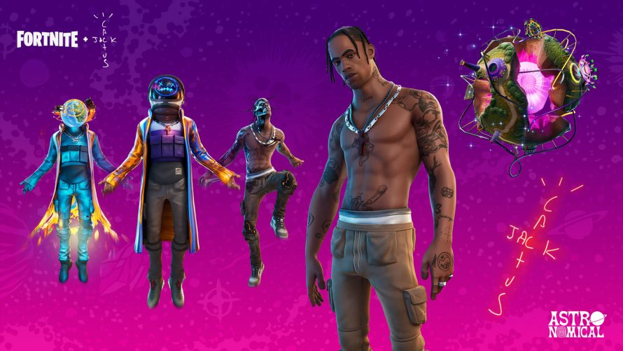 Fortnite – L'événement concert de Travis Scott explose les records