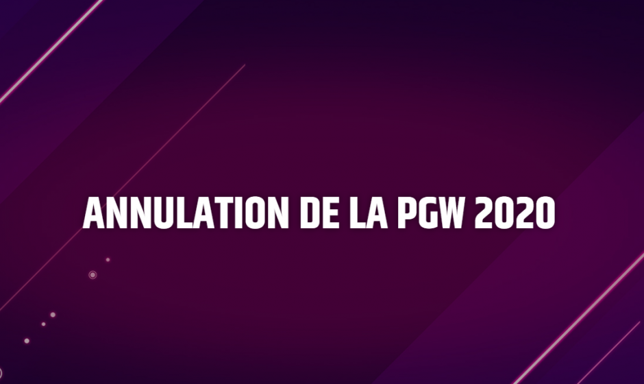 La Paris Games Week 2020 est officiellement annulée à cause du COVID-19