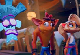 "gamescom 2020 | Crash Bandicoot 4: It's About Time – Les niveaux ""FLASHBACK"" ou ""extra difficiles"""