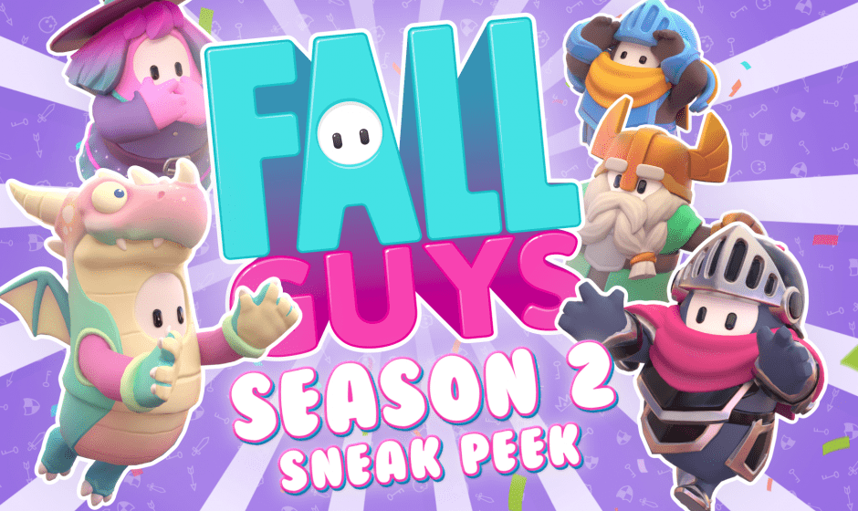gamescom 2020 | La saison 2 de Fall Guys se dévoile et aura pour thème le Moyen-Âge