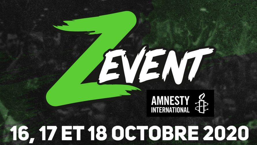 Le ZEvent 2020 récolte plus de 5.7 millions d'euros pour l'association Amnesty International
